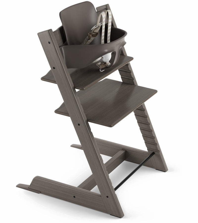Stokke Tripp Trapp High Chair & Baby Set - Hazy Grey