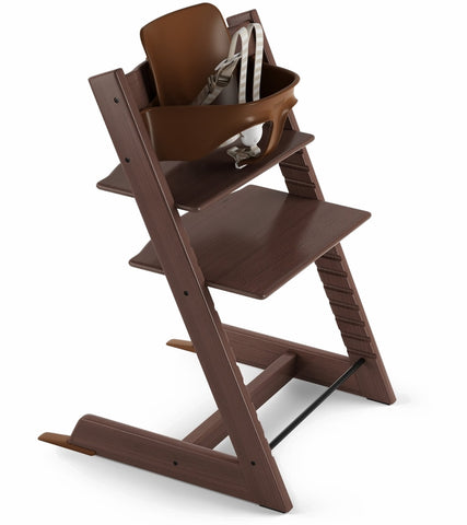 Stokke Tripp Trapp High Chair & Baby Set - Walnut