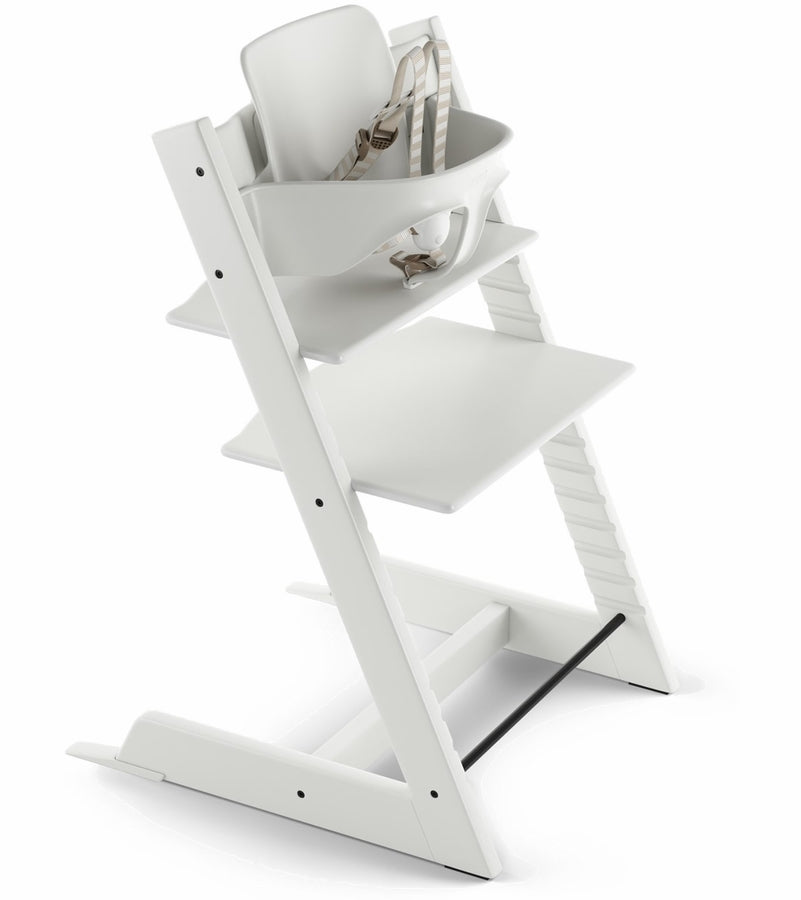 Stokke Tripp Trapp High Chair & Baby Set - White