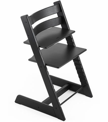 Stokke Tripp Trapp Oak High Chair - Oak Black