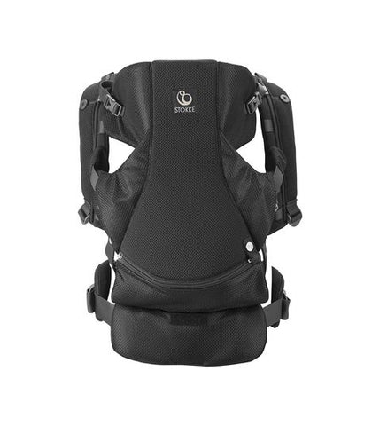 Stokke MyCarrier Front & Back Infant Carrier - Black Mesh