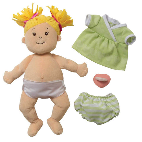 Manhattan Toys Baby Stella Blonde Doll
