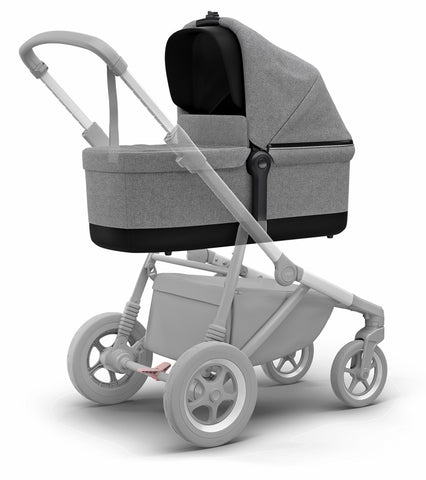 Thule Sleek Bassinet - Grey Melange