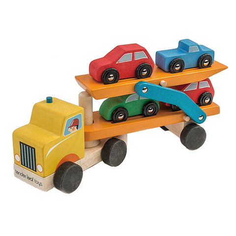 Tender Leaf Toys Car Transporter