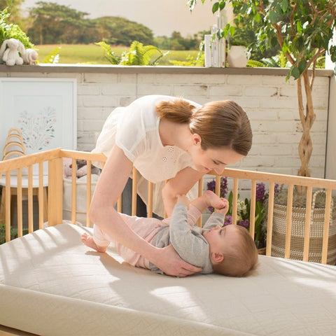 Naturepedic Organic Breathable Ultra 2-Stage Baby Crib Mattress (MC47)