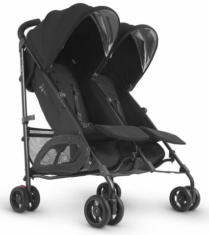 UPPAbaby 2019 G-LINK 2 Double Stroller - Jake (Black/Carbon)