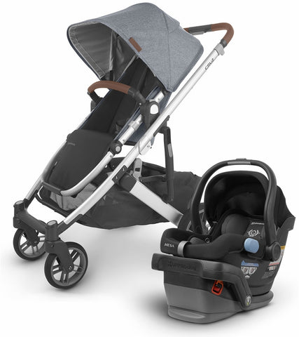 UPPAbaby 2020 Cruz + Mesa Travel System - Gregory/Jake