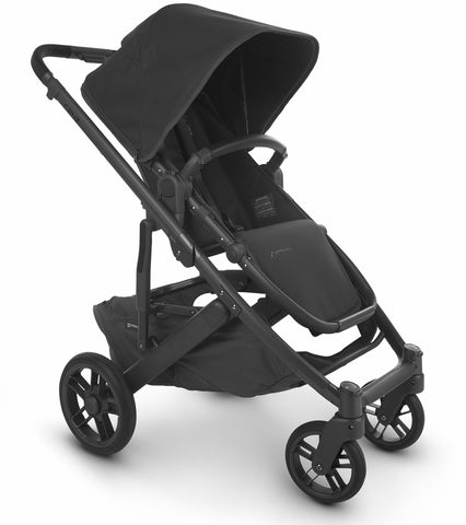 UPPAbaby 2020 Cruz V2 Stroller - Jake (Black/Carbon/Black Leather)