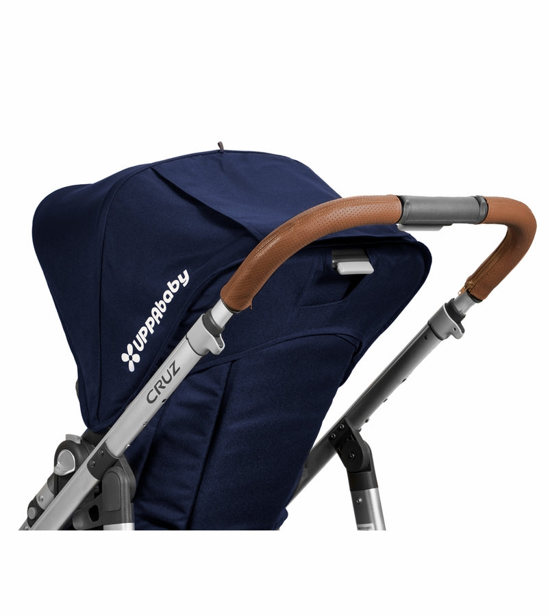 UPPAbaby Cruz Leather Handlebar Covers - Saddle