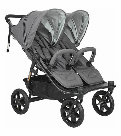 Valco Baby Tri Mode Duo X Double Stroller - Dove Grey