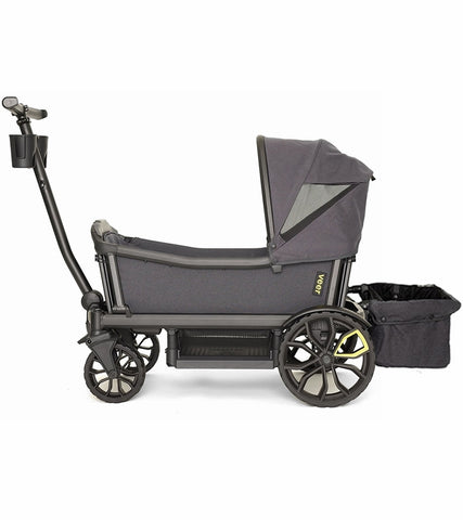 Veer Cruiser Stroller / Wagon with Retractable Canopy + Basket