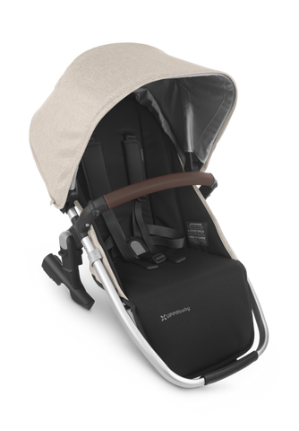 UPPAbaby 2021 Rumbleseat V2 - Declan (Oat/Silver/Brown Leather)