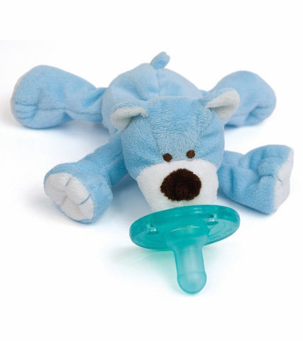 Wubbanub Pacifier-Blue Bear