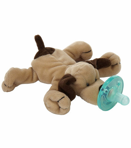 Wubbanub Pacifier-Brown Puppy