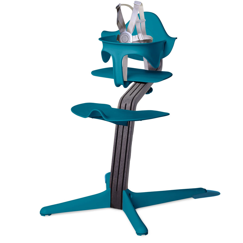Nomi Highchair - Ocean/Black Oak