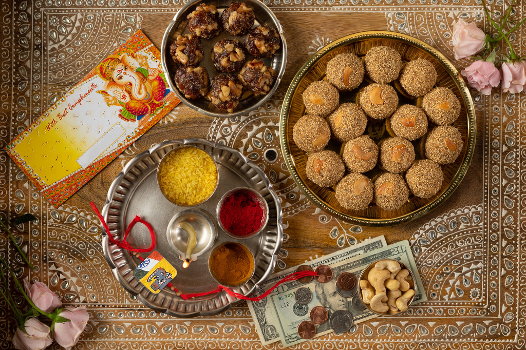 Raksha Bandhan - Blessings with Laddus