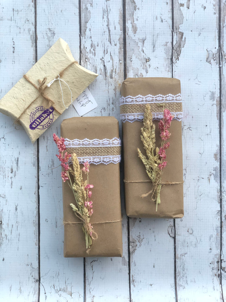 Luxurious Gift Wrap