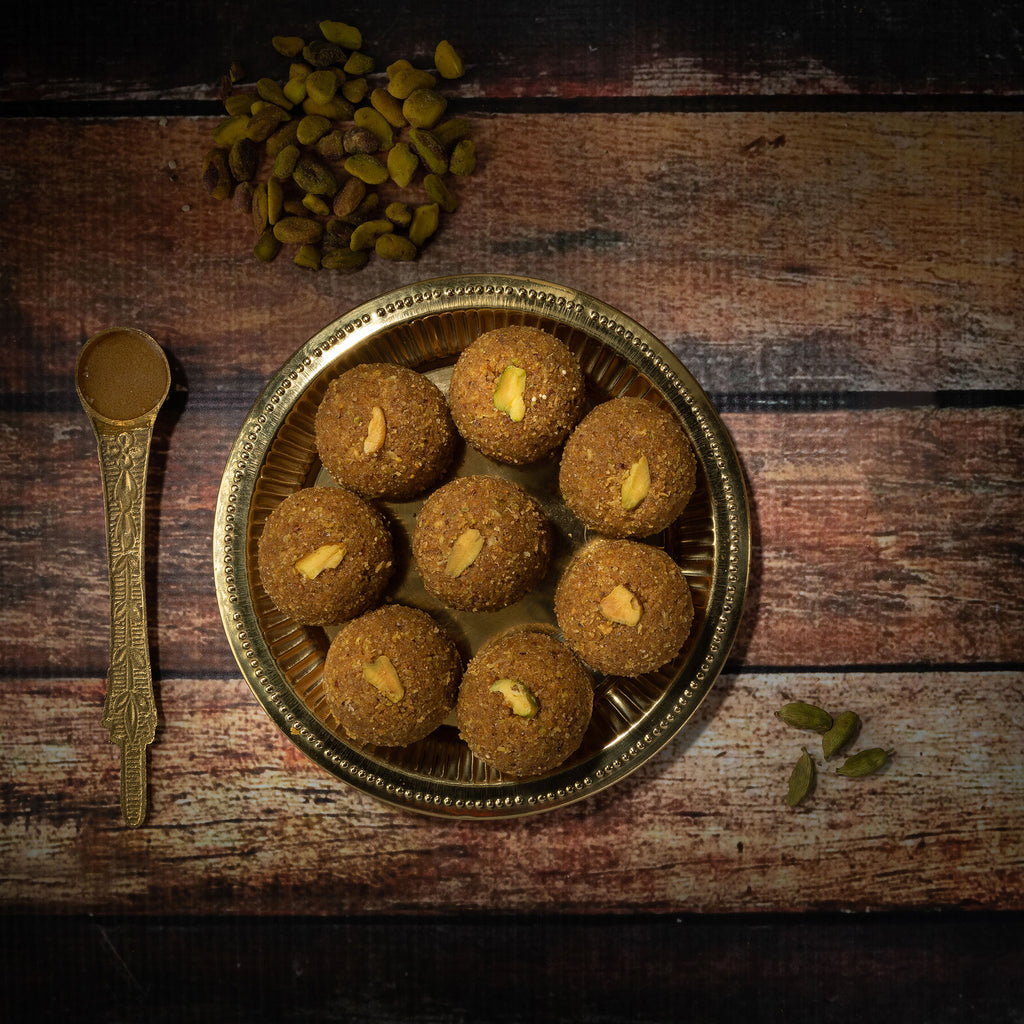 Mixed nuts laddu