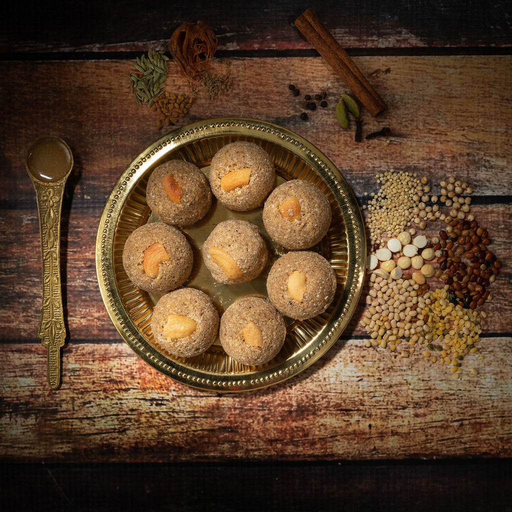 Multi grain Sattu maavu laddu