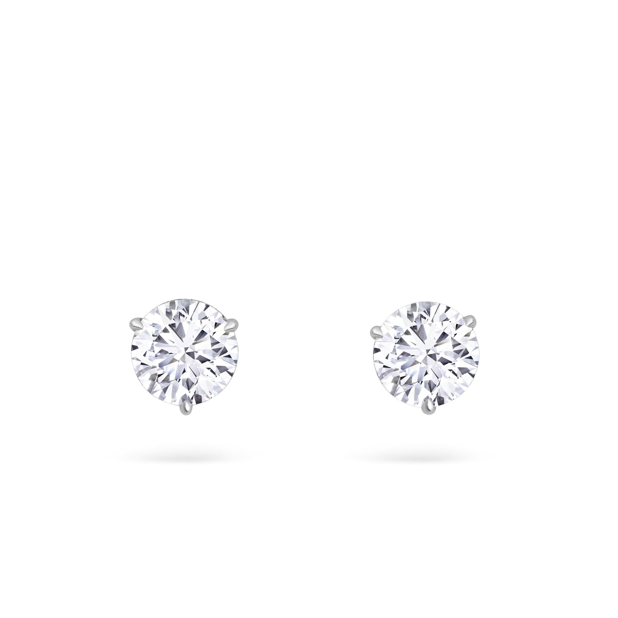Diamond Stud Earrings 4.26ctw
