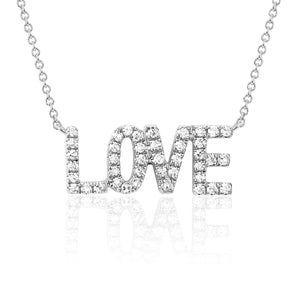 """LOVE"" Necklace"
