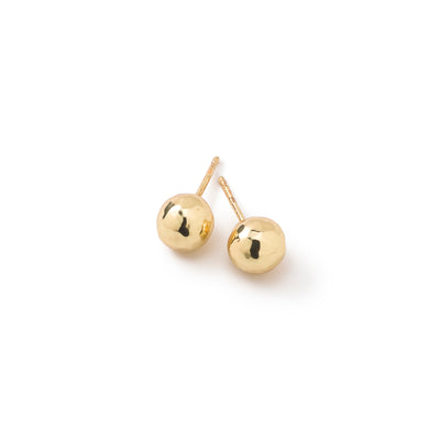 Hammered Ball Stud Earrings