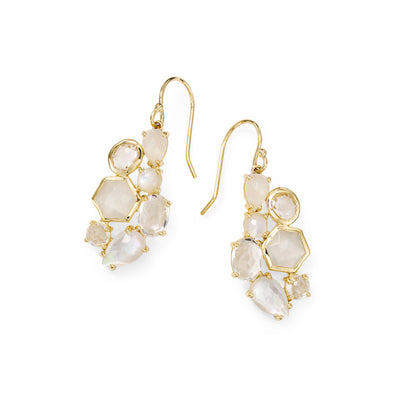 Flirt Cluster Drop Earring