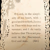 Lace First Communion Holy Card