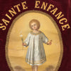 Antique French Religious Banner