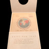 1943 WWII Christmas Prayer Card with World Mass Clock