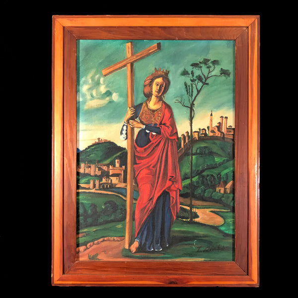Saint Helena Painting, signed