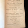 1886 The Teachings of the Holy Catholic Church by Rev. Smith, 1st ed.
