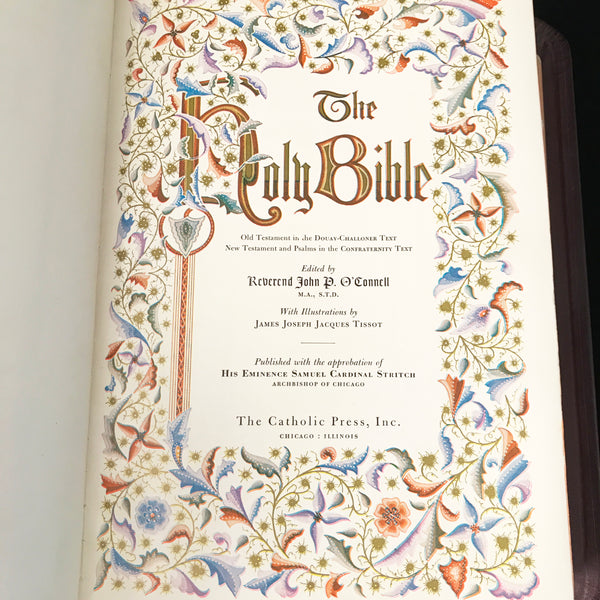 Holy Family Edition Catholic Bible, 1950