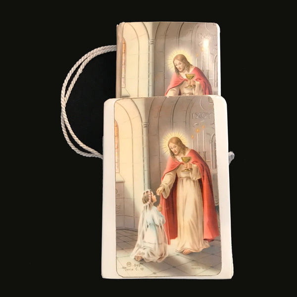 1960 French Children's Missal with Carrying Case - The Vintage Catholic