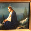 Christ on the Mount Of Olives Framed Lithograph