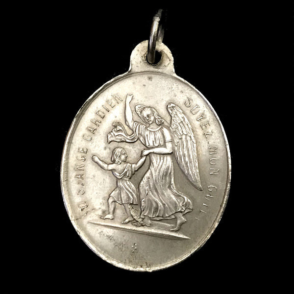 French Medal - Congregation of the Holy Angels - The Vintage Catholic