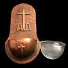 Art Deco Alpha & Omega Holy Water Font