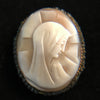 Vintage Madonna Cameo Brooch or Pendant - The Vintage Catholic