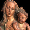 Bronze Madonna & Child Wall Sculpture