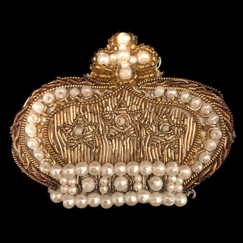 Crown of Christ the King Embroidered Applique