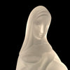 Frosted Glass Madonna