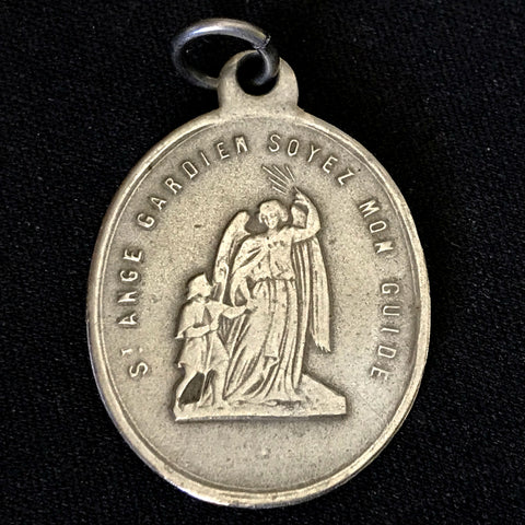 Antique Medal - Congregation of the Holy Angels - The Vintage Catholic