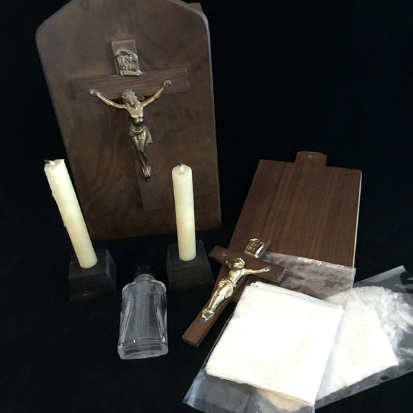 Vintage Last Rites Box - The Vintage Catholic