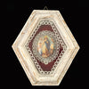 Madonna with Angels Devotional Shadowbox from Germany - The Vintage Catholic