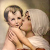 """Madonna and Child"" by Chambers Framed Print"