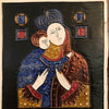 Madonna & Child Ceramic Art Tile, signed