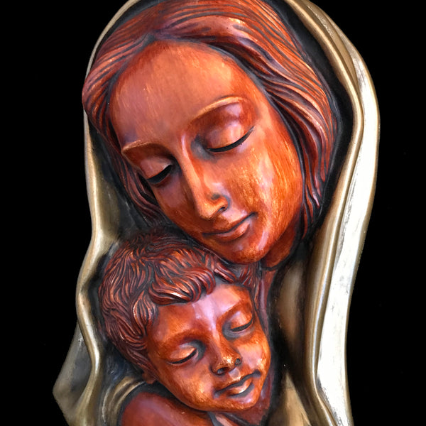 Madonna and Child Wall Art, 1950's