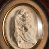 Madonna and Child Framed Sculpture