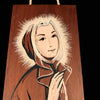 Saintly Nun Plaque,  signed by artist