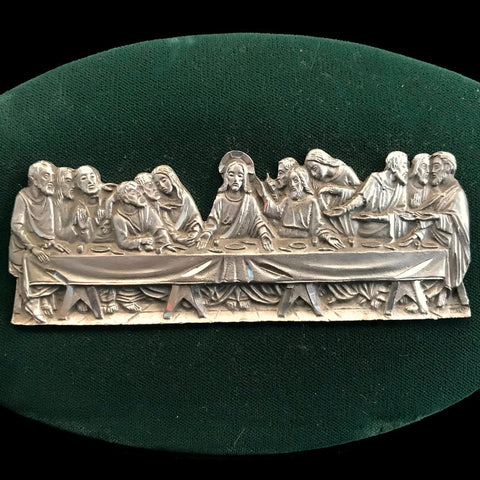 Pewter Last Supper Plaque